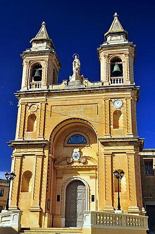 Parish Church, Marsaxlokk, Malta, Europe