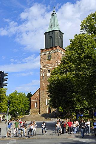 Turku cathedral, Turku Abo, Finland, Scandinavia, Europe