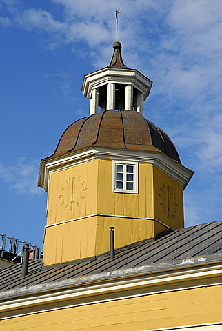 The old Town hall, Kajaani, Kainuu, Finland, Scandinavia, Europe