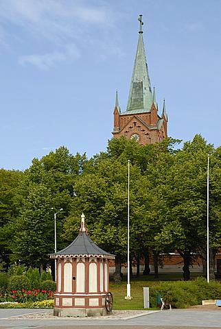 Vanha Kirkko church, Uusikaupunki, Finland Proper, Finland, Scandinavia, Europe