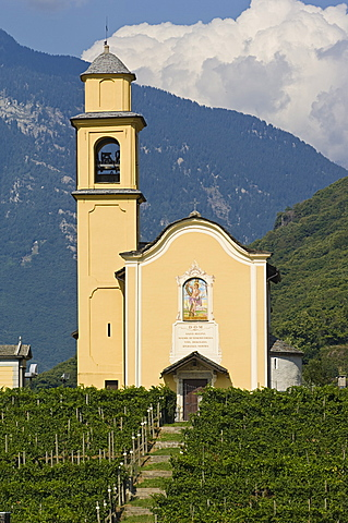 san sebastian church, bellinzona, switzerland