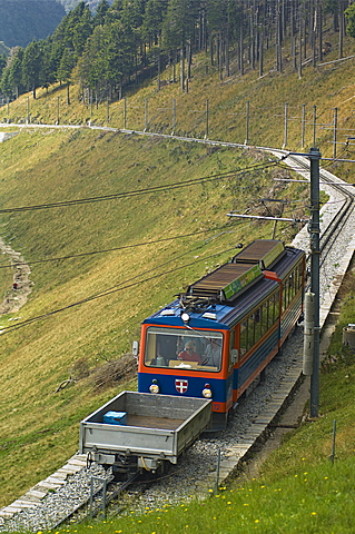 rack railway, mendrisio, switzerland