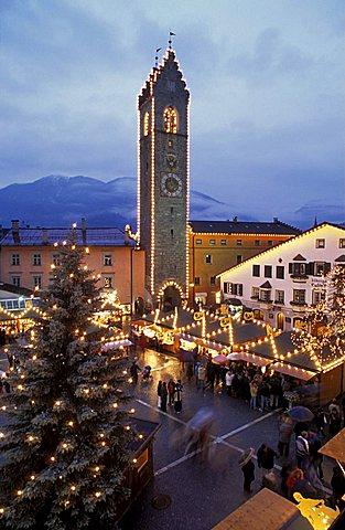 Christmas market, Vipiteno, Alto-Adige, Italy