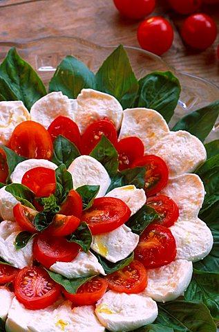 Caprese salad, Italy