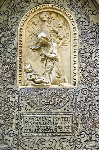 bas relief, sondrio, italy