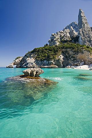 Cala Goloritzè e Punta Caroddi, Baunei, Provincia Ogliastra, Golfo di Orosei, Sardinia, Italy