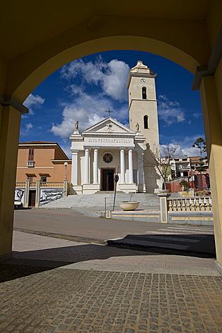 Chiesa di San Pietro, Loceri, Provincia di Ogliastra, Sardinia, Italy