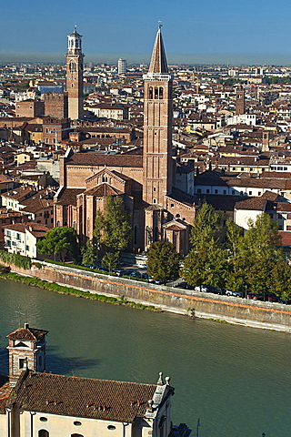 Santa Anastasia Church, Verona, Veneto, Italy, Europe