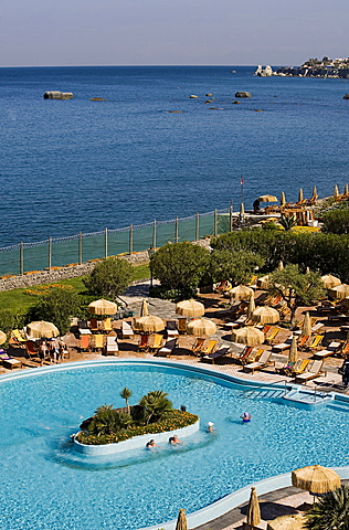 Poseidon Thermal Park,Ischia island,Forio,Naples,Campania,Italy,Europe.