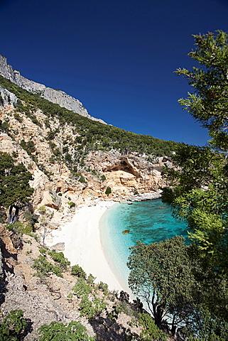 Cala Biriola. Golfo di Orosei, Baunei (OG), Sardinia, Italy, Europe