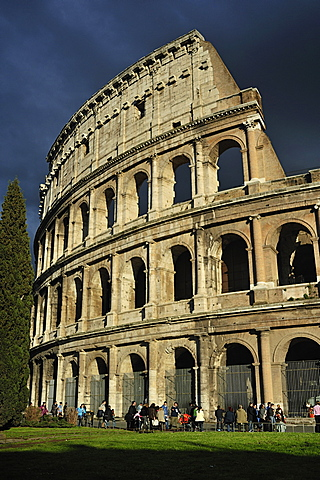 Rome. Italy. The Colosseo.