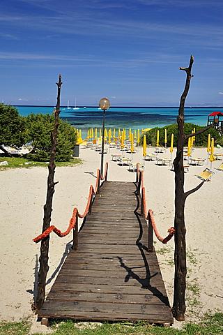 La Pelosa beach, Stintino, Sardinia, Italy, Europe