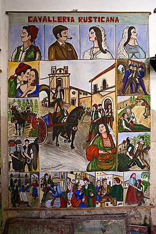 Vigradavola storyteller, Ragusa, Sicily, Italy, Europe