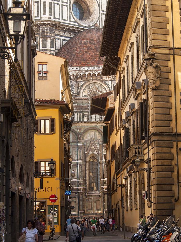 Foreshortening, Florence, Tuscany, Italy,