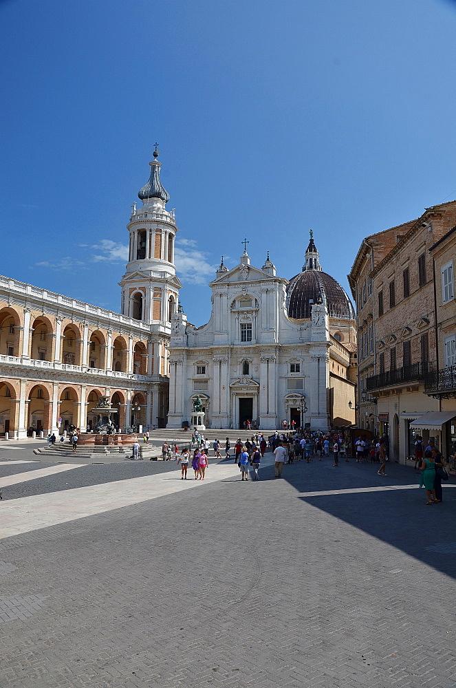 Sanctuary of Madonna di Loreto, Loreto, Marche, Italy, Europe