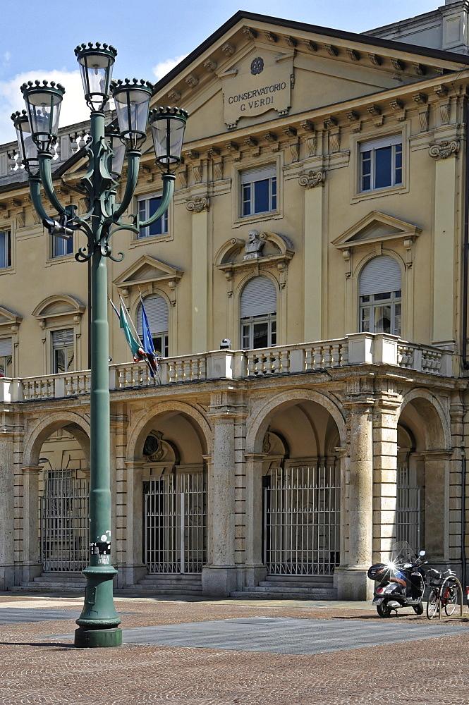 Giuseppe Verdi Conservatory, Turin, Piedmont, Italy, Europe