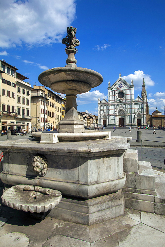 Santa Croce church,Florence,Tuscany, Italy, Europe