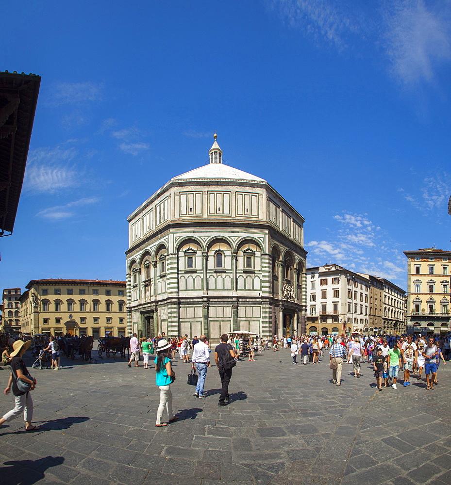 Baptistere, Florence, Tuscany, Italy, Europe