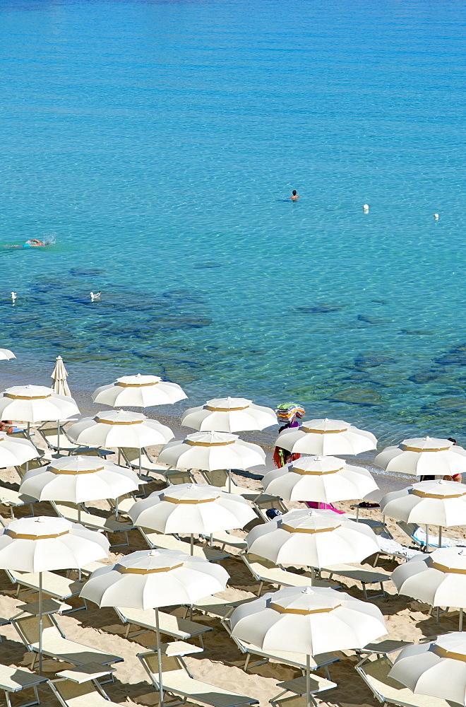 Foreshortening, Rena Bianca beach, Santa Teresa di Gallura, Olbia Tempio, Gallura, Sardinia, Italy, Europe - 746-88474