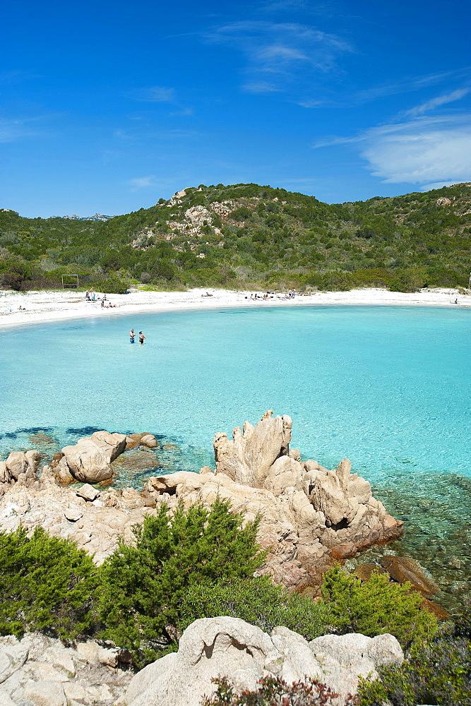 Spiaggia del Principe beach, Costa Smeralda, Arzachena, Sardinia, Italy, Europe - 746-88489