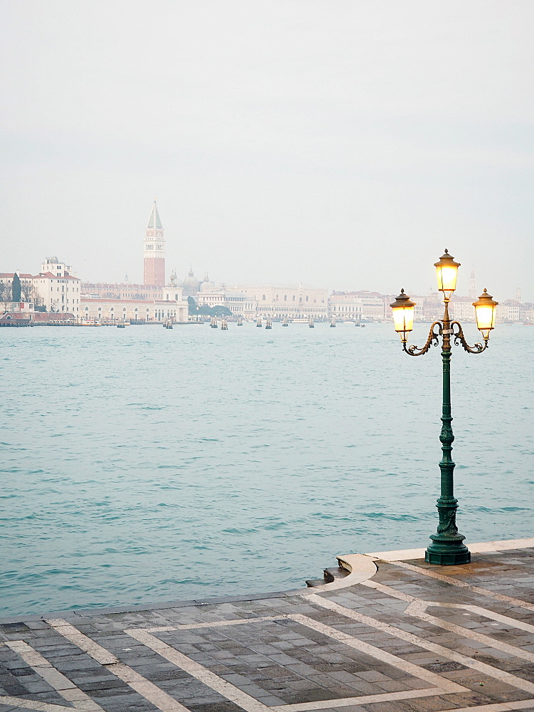 Fondamenta Zattere view from Giudecca island, Venice, Veneto, Italy, Europe - 746-88497