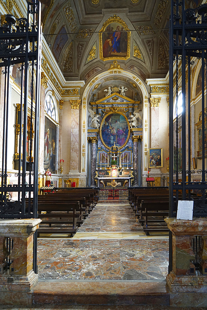 Cattedrale del SS. Ambrogio e Carlo cathedral, historic city center, Vigevano, Lombardy, Italy, Europe - 746-88564