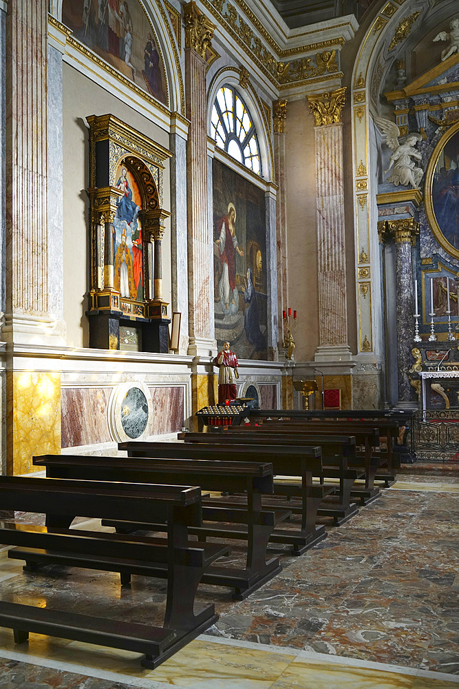 Cattedrale del SS. Ambrogio e Carlo cathedral, historic city center, Vigevano, Lombardy, Italy, Europe