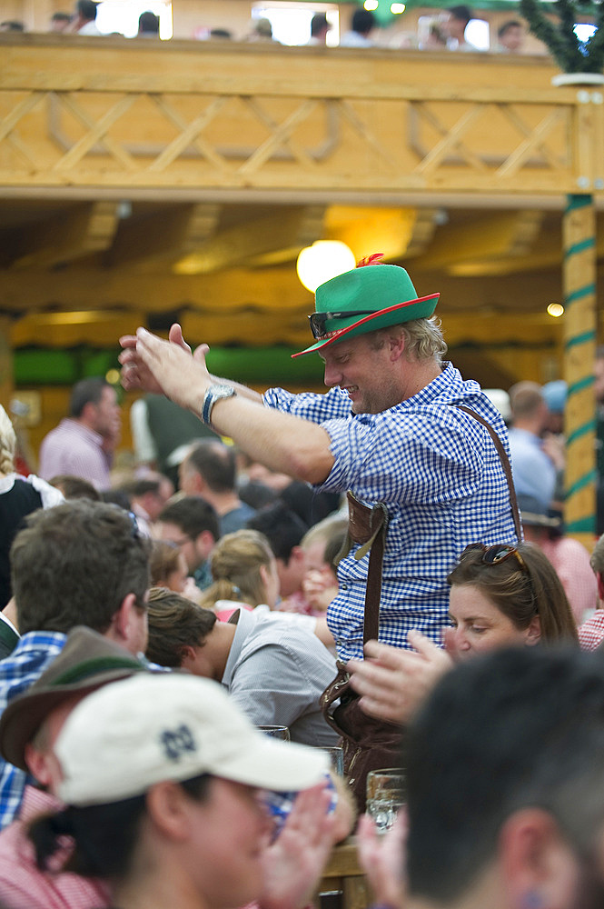 Oktoberfest, traditional german beer festival, Munich, Baviera, Germany, Europe - 746-88681