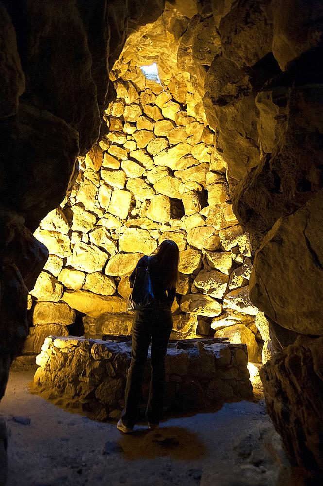 Su Nuraxi Archaological Area, Barumini, Medio Campidano, Sardinia, Italy