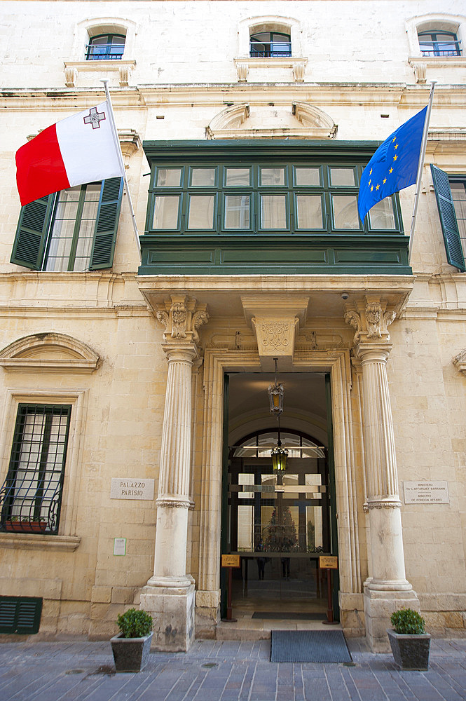 La Valletta, Capital of Culture 2018, Parisio Palace, Malta Island, Mediterranean Sea, Europe
