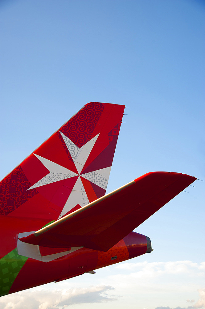 Air Malta, Malta Island, Mediterranean Sea, Europe