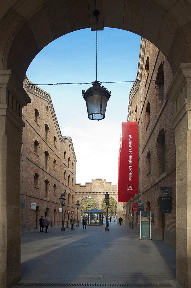 Palau de Mar and History museum of Catalonia, La Barceloneta, Barcelona, Catalonia, Spain, Europe