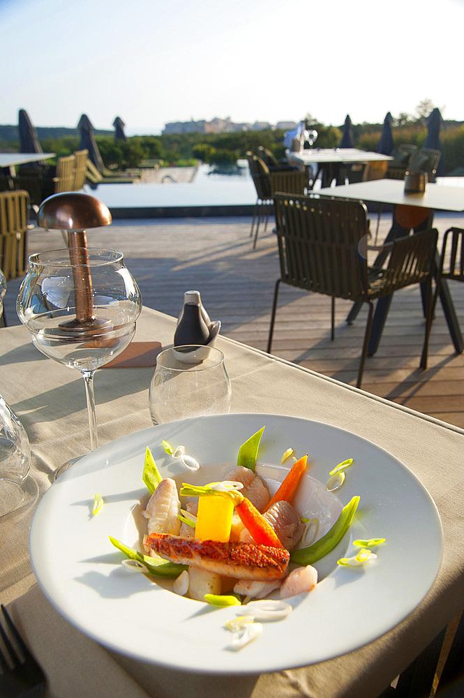 Restaurant L'An Faim, Version Maquis, Bonifacio, South Corsica, France, Europe
