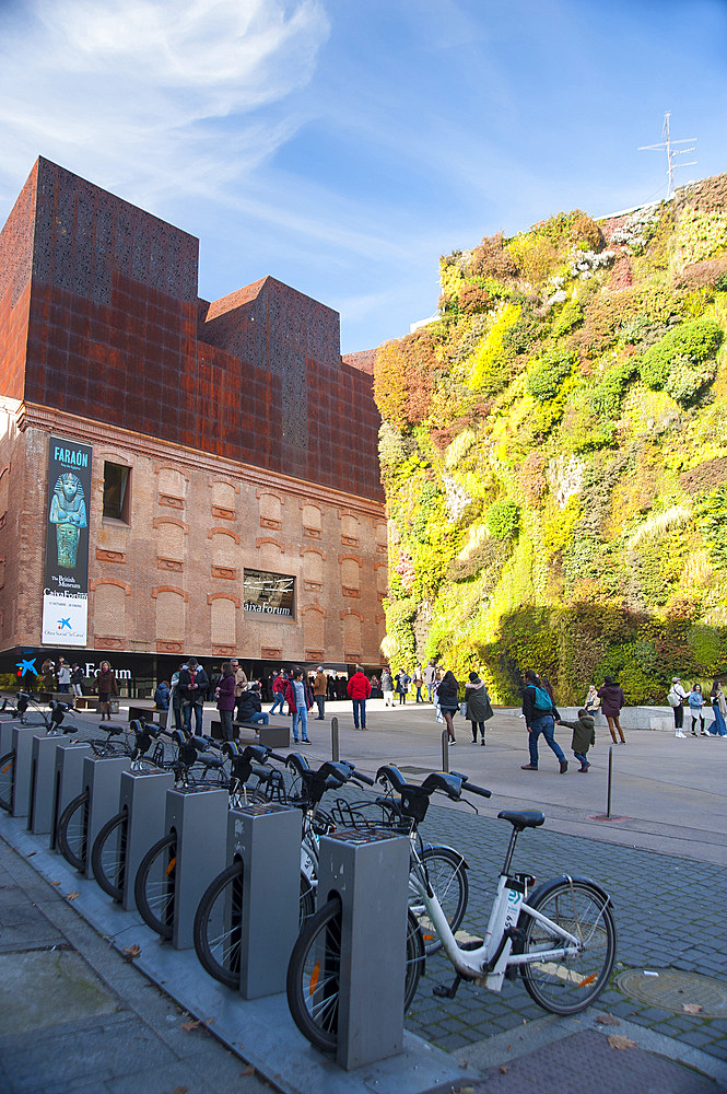 Caixa Forum, Madrid, Spain, Europe