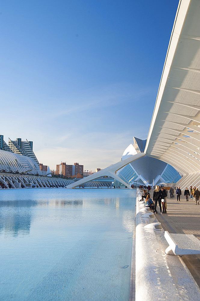Museu de les Ciences Principe Felipe, Ciutat de les Arts i les Ciències, Valencia, Spain, Europe