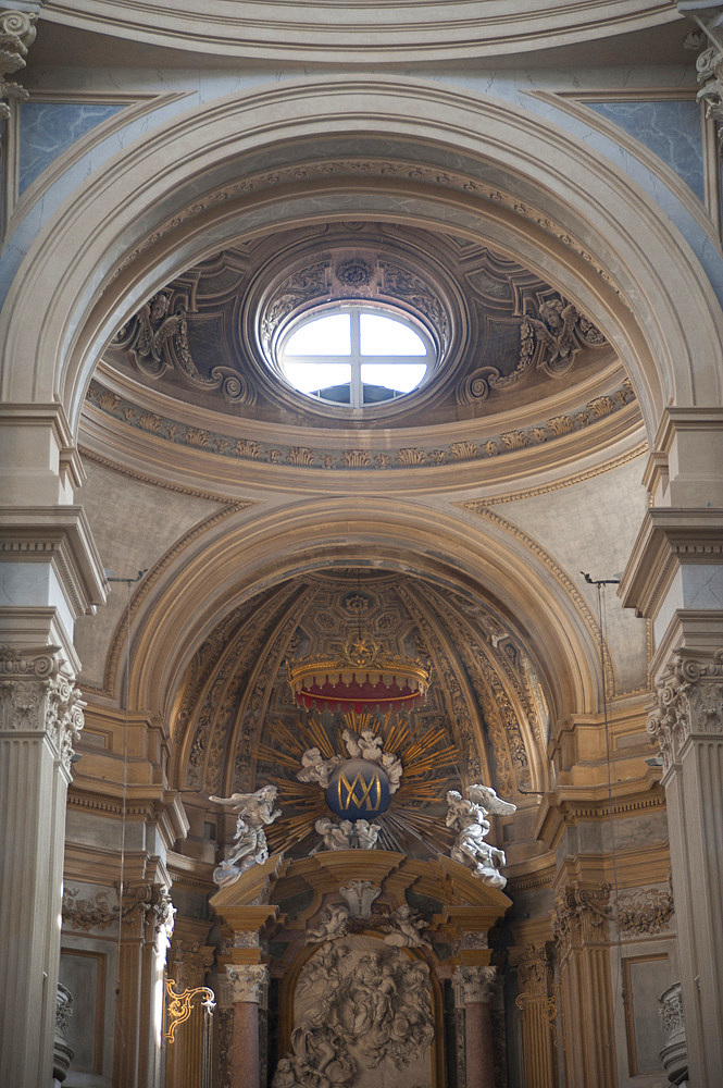 The Basilica of Superga is a church in the vicinity of Turin, Turin, Piedmont, Italy, Europe