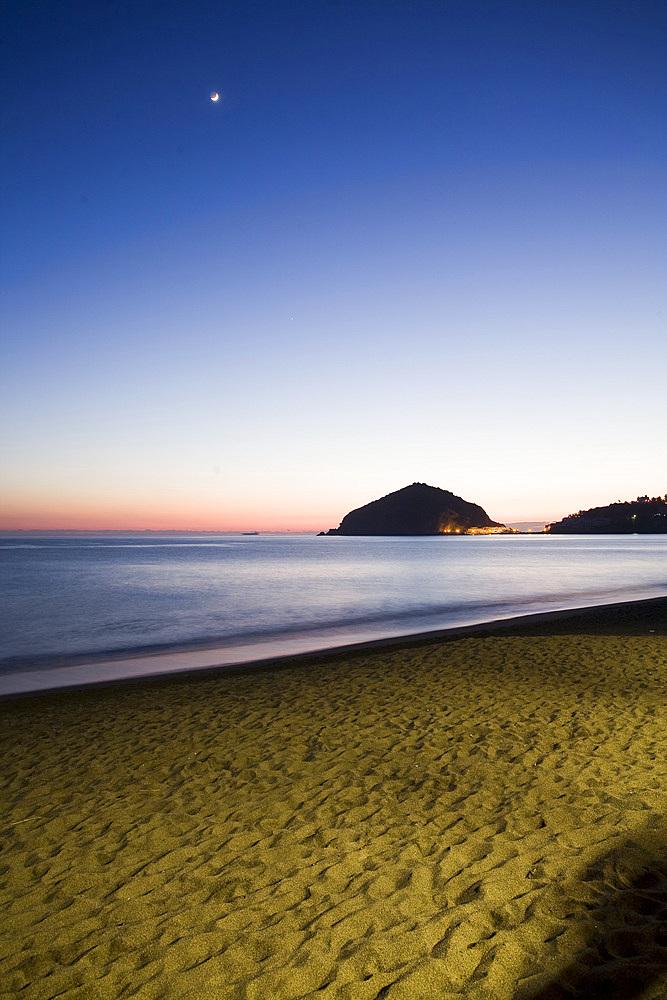 Maronti beach, Barano d'Ischia, Ischia island, Naples, Campanioa, Italy, Europe