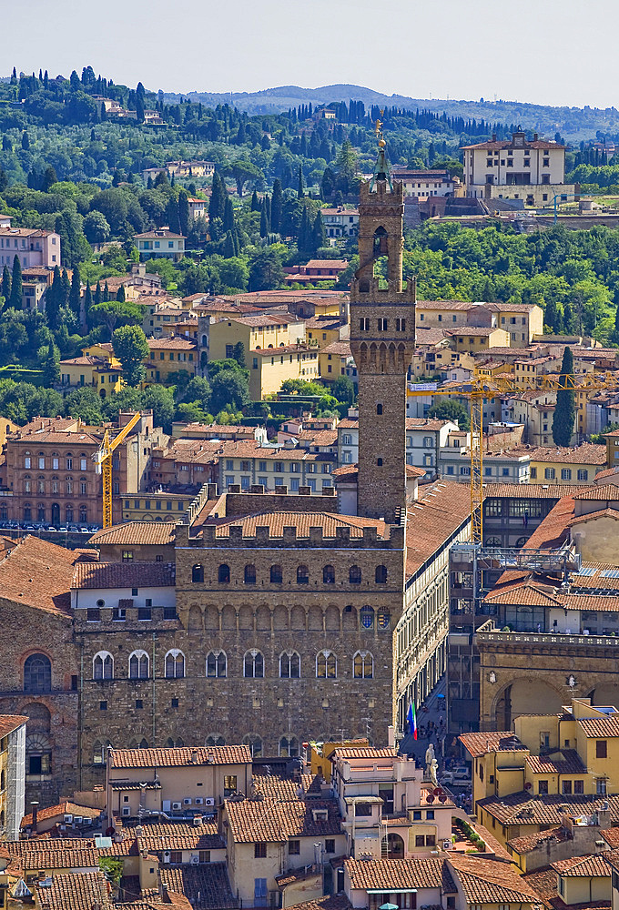 Palazzo vecchio, Florence, Tuscany, Italy, Europe