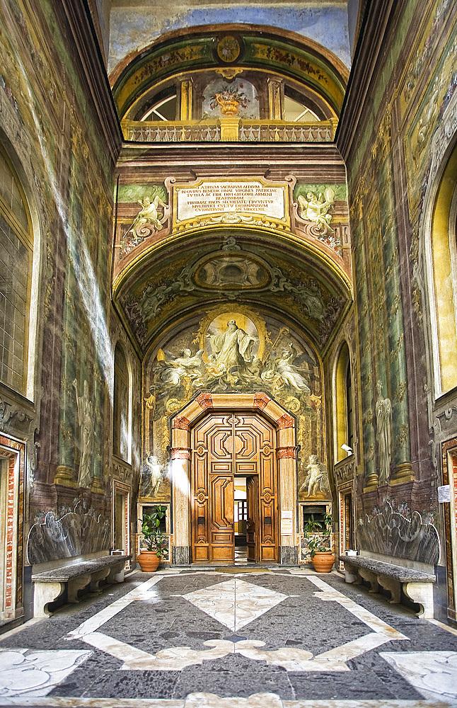 Chiesa e convento dei Gerolomini, Naples, Campania, Italy, Europe