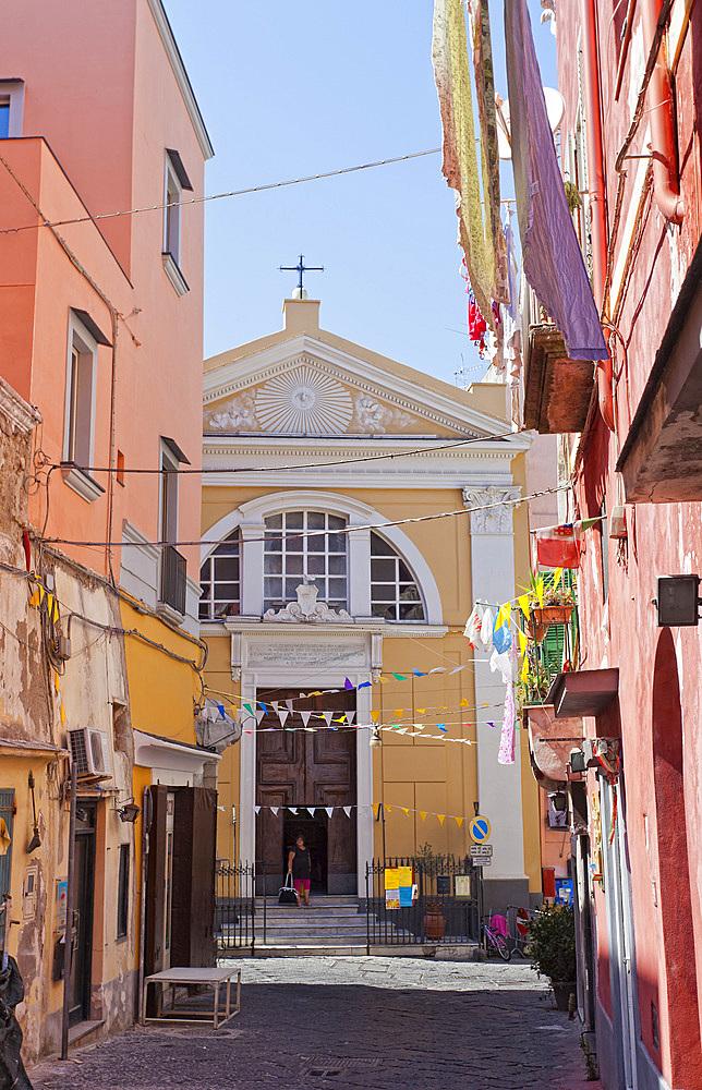 S.Leonardo, Procida island, Naples, Campania, Italy, Europe.