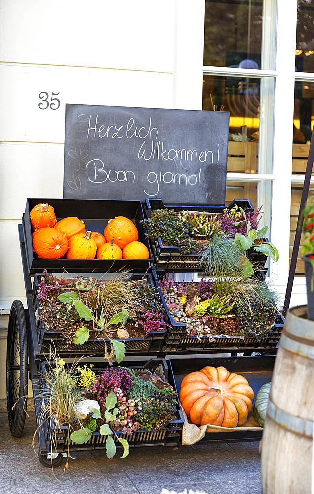 Food market, Merano, Trentino Alto adige, Italy.