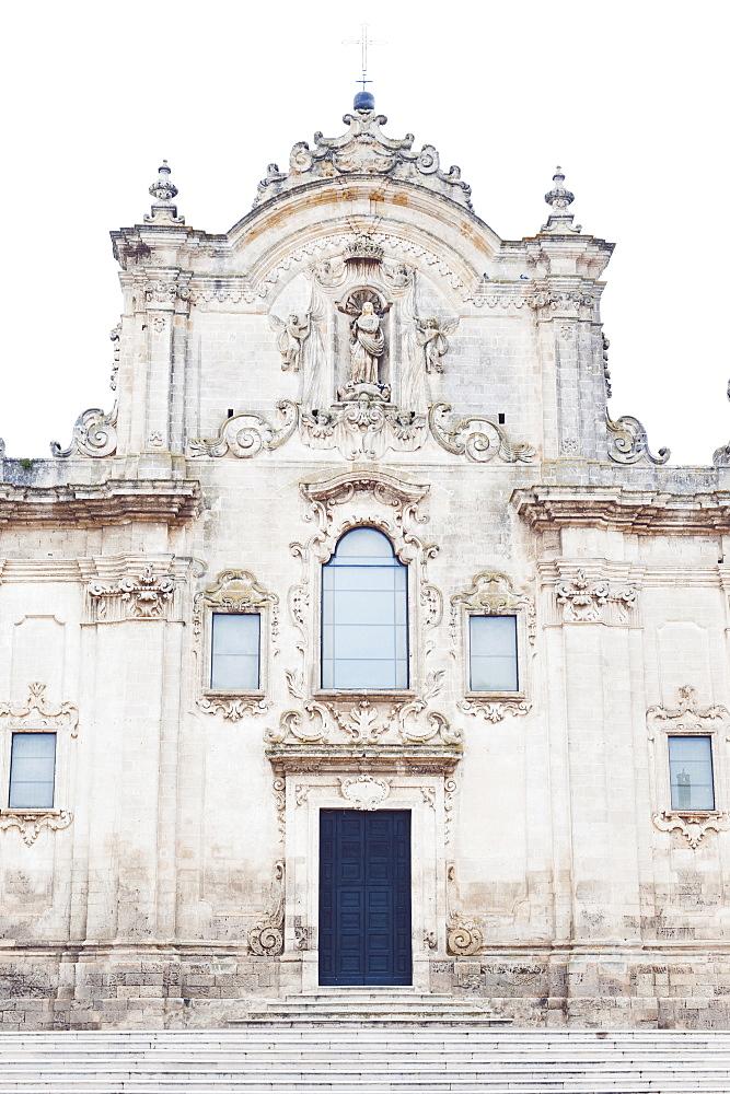 Church of San Francesco d'Assisi in Matera, Basilicata, Italy, Europe