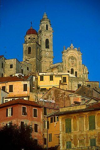 Cityscape, Cervo Ligure, Liguria, Italy
