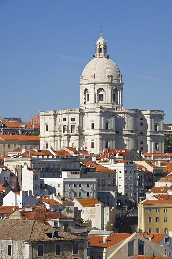 The National Pantheon (Igreja de Santa Engracia), Alfama District, Lisbon, Portugal, Europe