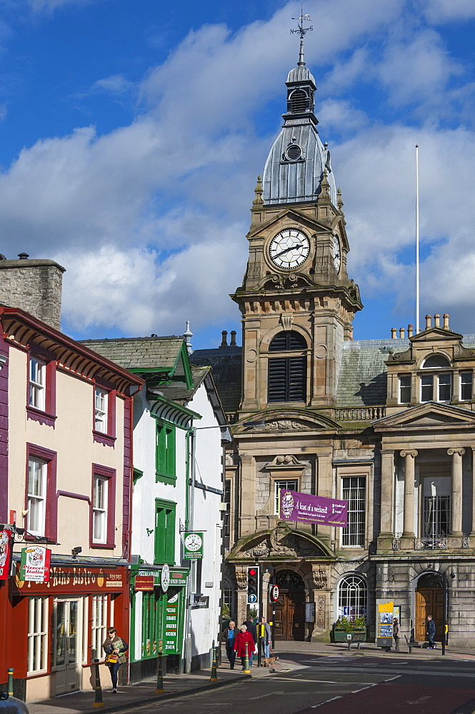 Town Hall, Kendal, South Lakeland, Cumbria, England, United Kingdom, Europe