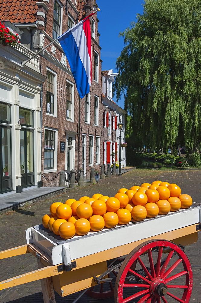 Edam cheese balls, Edam, Holland, Europe