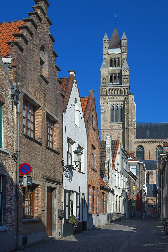 St. Saviours Cathedral (St. Salvator's Cathedral), Bruges, UNESCO World Heritage Site, Belgium, Europe