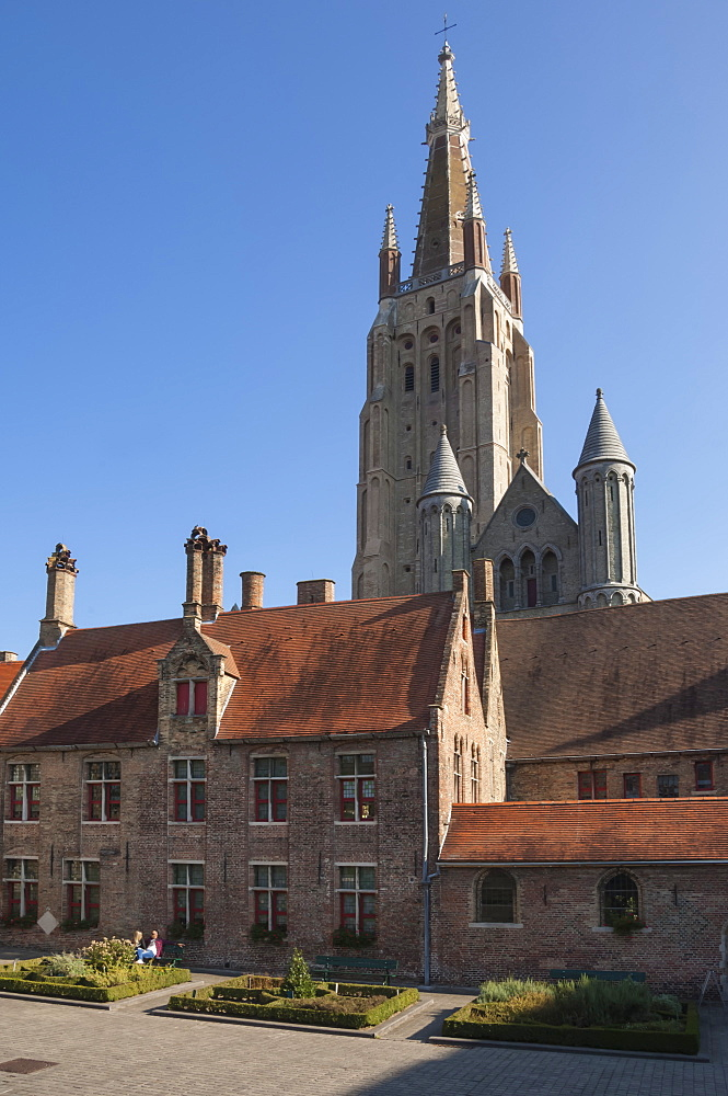 Church of Our Lady, and precinct, Bruges, UNESCO World Heritage Site, Belgium, Europe - 747-1841