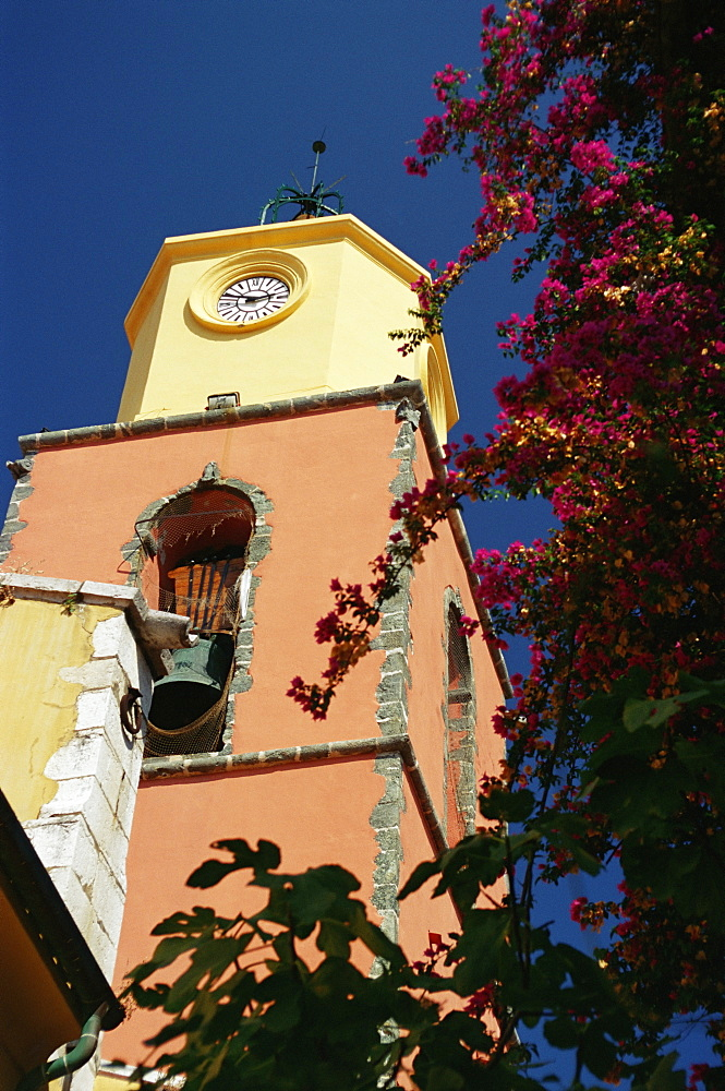 Tower, St. Tropez, Var, Provence, Cote d'Azur, French Riviera, France, Europe