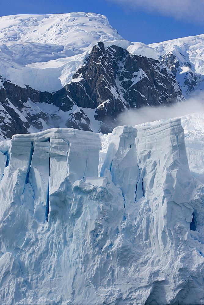Glacier, Paradise Bay, Antarctic Peninsula, Antarctica, Polar Regions - 748-1225